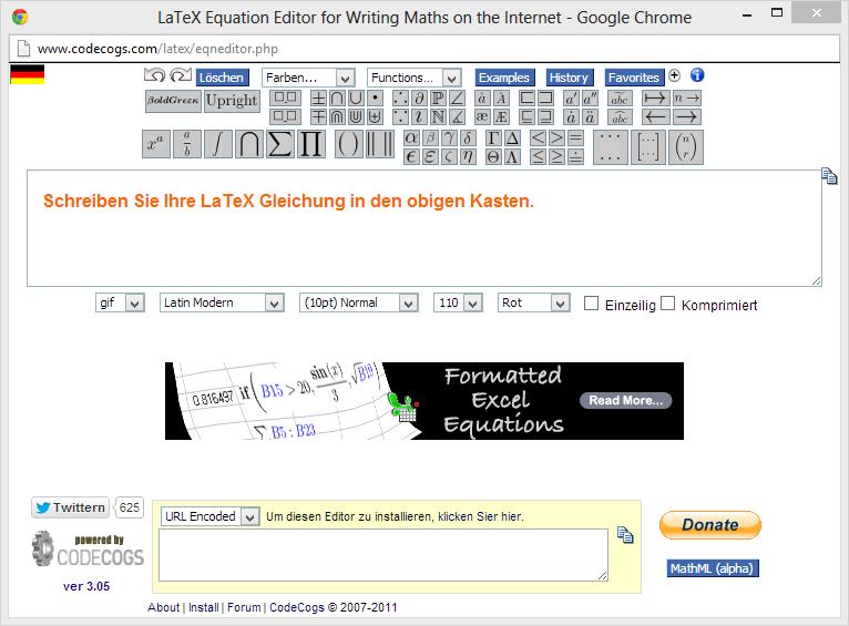 latex befehle mathe