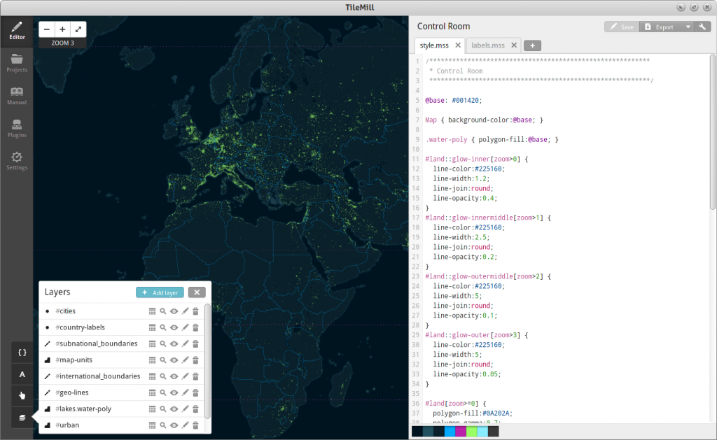 web application using leaflet mapbox or openstreetmap
