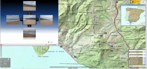 IBERPIX - topographic map and panorama photos of the Bolonia Bay