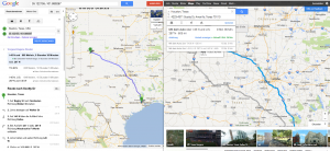 routing in google maps