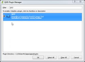 SPIT plugin for QGIS