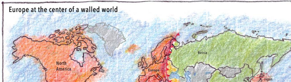fortified regions