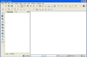 installed QGIS running on Windows