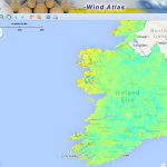 wind speed ireland real time