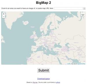 Start page of http://bigmap.osmz.ru/
