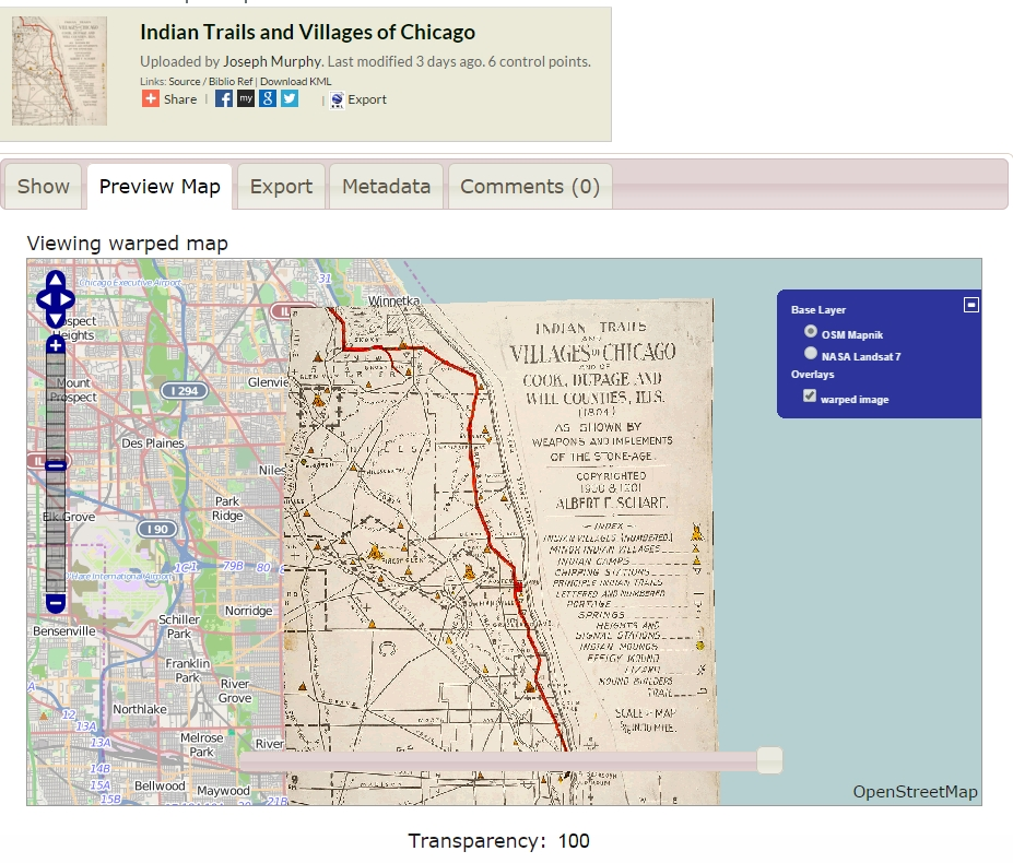 Content Map Examples: Digital Geography