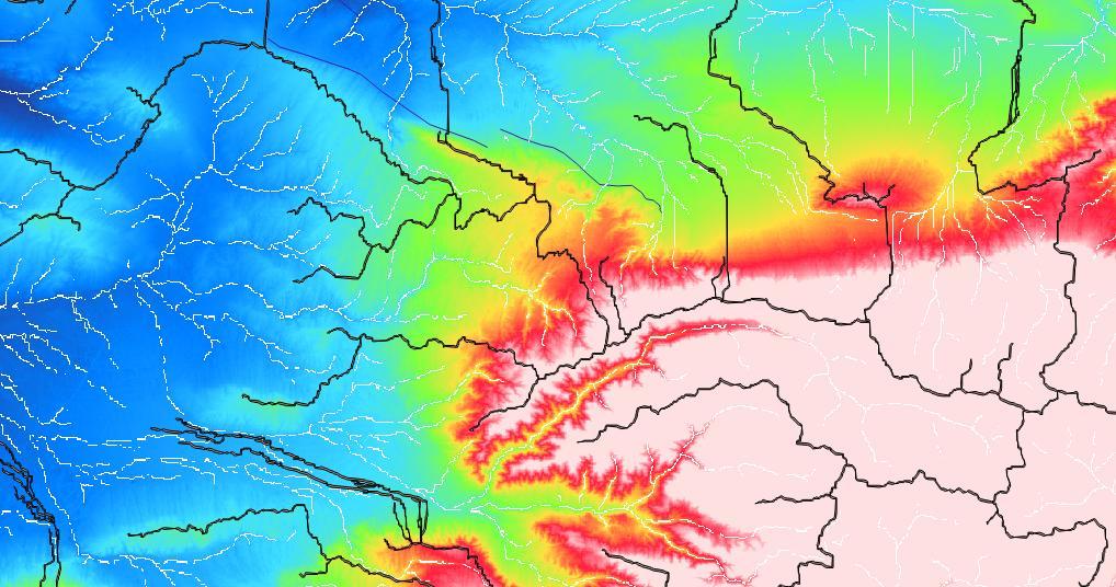 Digital Geography - Globe elevation