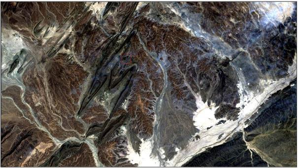 cirrus example taken from Landsat 8 Data Users Handbook . https://landsat.usgs.gov/documents/Landsat8DataUsersHandbook.pdf