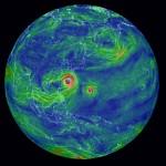 Typhoon Chan-hom and Nangka