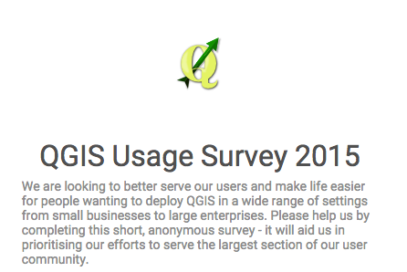 QGIS User survey