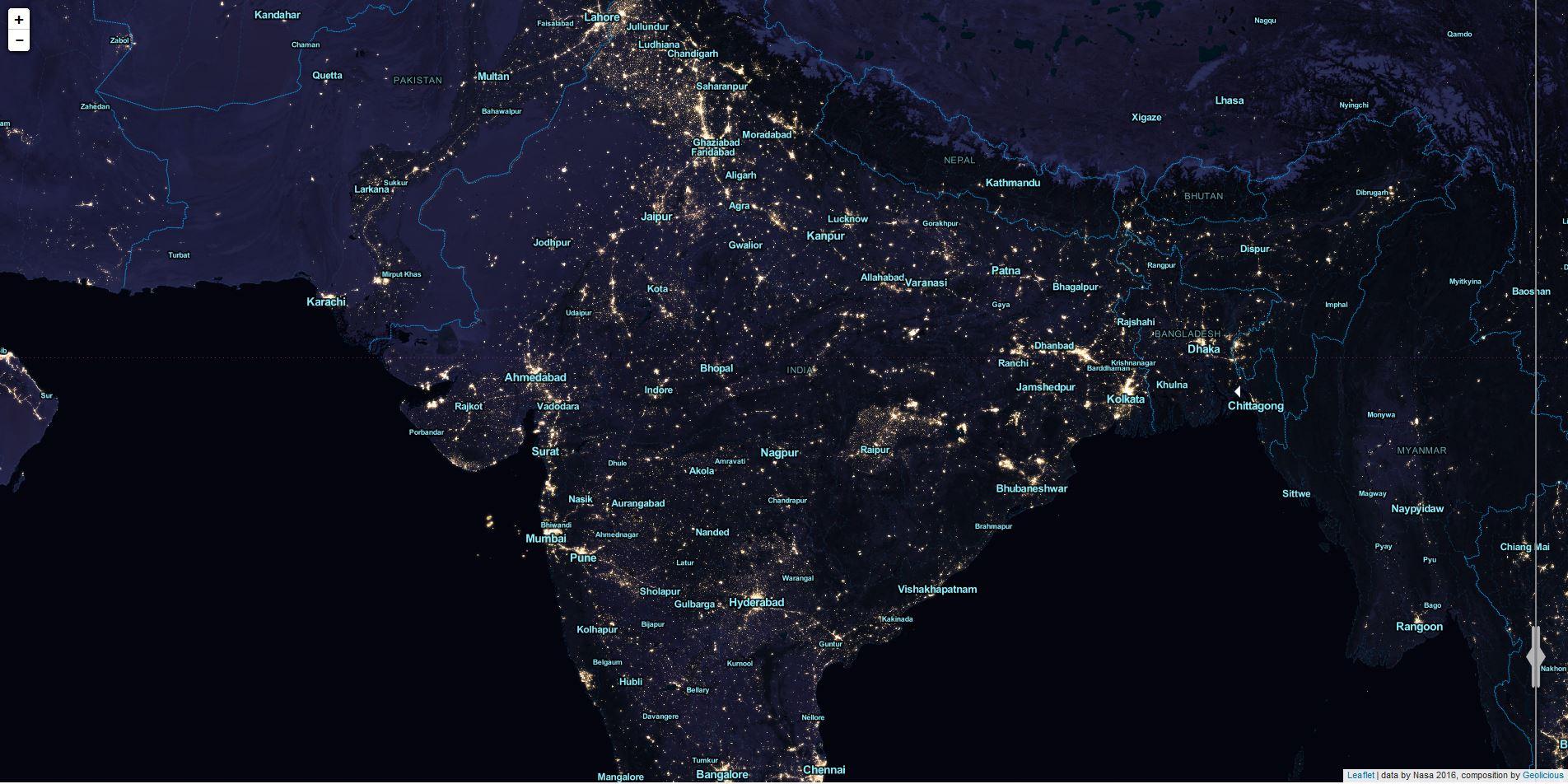 India 2012 Black marble Night