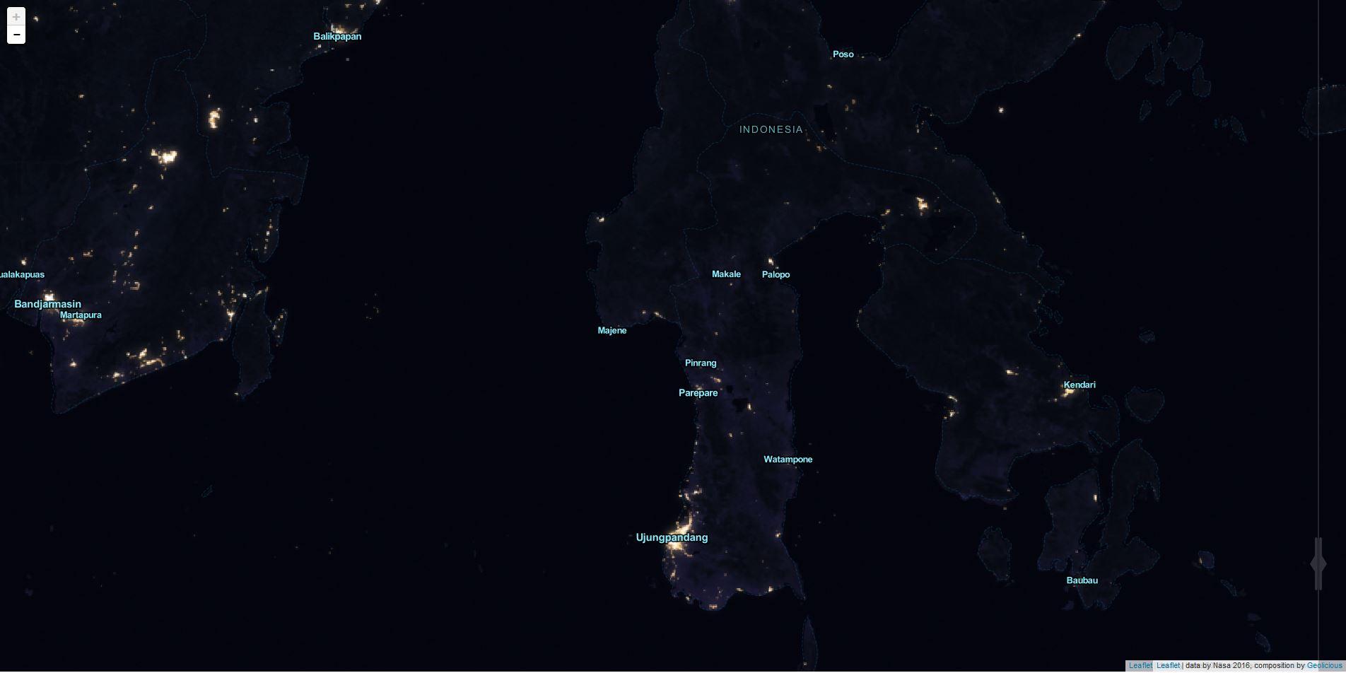 Indonesia 2012 Black Marble Night